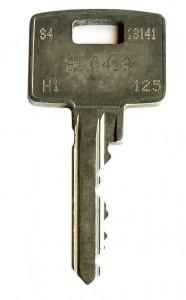 Nyckel till ytterdörrar